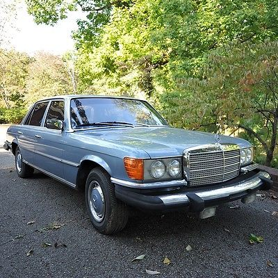1977 Mercedes-Benz 400-Series 1977 Mercedes Benz 450 SEL Big beautiful V8 LOW Miles!