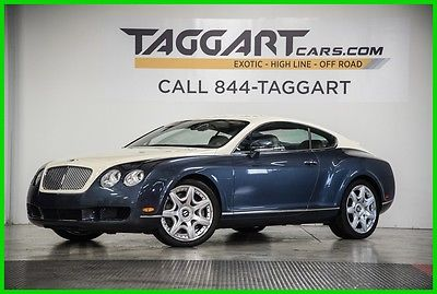 2007 Bentley Continental GT Coupe 2007 Coupe Used Turbo 6L W12 60V Automatic AWD Premium