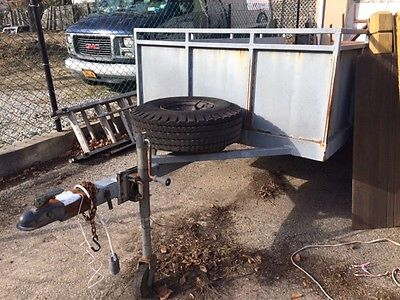 4.5' x 8.5' Heavy Duty  Utility Trailer