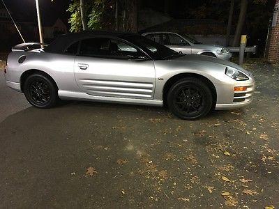 2001 Mitsubishi Eclipse Spyder GT mitsubishi eclipse spyder GT