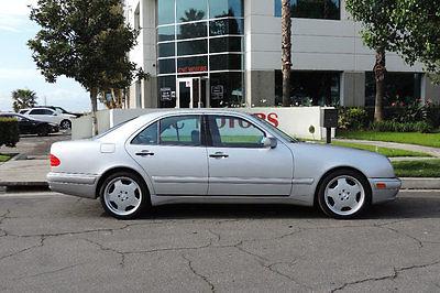 1999 Mercedes-Benz E-Class E55 AMG 1999 Mercedes-Benz E Class E55 AMG E 55 Silver Only 38,480 Miles California Car