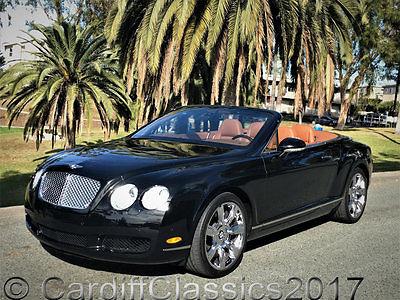 2007 Bentley Continental GT GTC Convertible 2-Door 07 CONTINENTAL GTC-29K ORIG MILES*JUST SERVICED*1 OWNER*CLEAN CARFAX*CALIFORNIA*