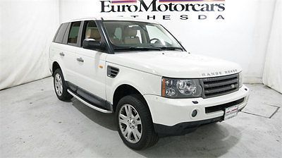 2006 Land Rover Range Rover Sport 4dr Wagon HSE land rover range rover sport hse 06 07 08 navigation dvd supercharged used deal