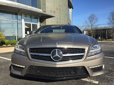 2012 Mercedes-Benz CLS-Class Mercedes-benze cls63 amg