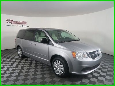 2017 Dodge Grand Caravan SE FWD V6 Van DVD Player Cloth Seats 6 Speakers 2017 Dodge Grand FWD Van Backup Camera AUX USB Radio 430 17inch Steel Wheels