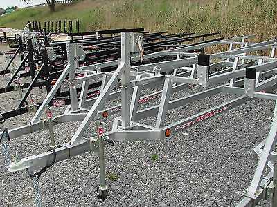 GALVANIZED 24' CRANK UP PONTOON TRAILER * ON SALE * BEST TIME TO BUY* DR TRAILER
