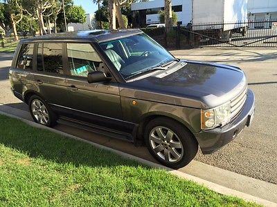 2004 Land Rover Range Rover WESTMINISTER 2004 RANGE ROVER WESTMINISTER