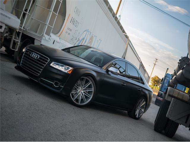 2016 Audi S8 -- 2016 Audi S8  6,100 Miles Mythos Black Metallic