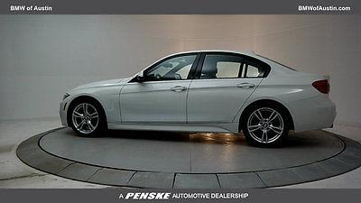2016 BMW 3-Series 328i 328i 3 Series 4 dr Sedan Automatic Gasoline 2.0L 4 Cyl Alpine White