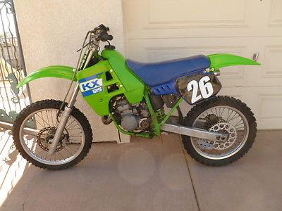 1989 Kawasaki KX  1989 Kawasaki KX125