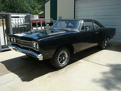1969 Plymouth Road Runner 1969 Plymouth Road Runner Factory TX9 Exterior with TX9 Interior 383, 4 Speed.