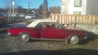 1964 Chevrolet Corvair basic 1964 corvair spider 4 speed convertable