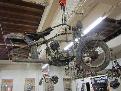 1936 Harley-Davidson VL  1936 VL CHASSIS KNUCKLEHEAD SIDE VALVE 45