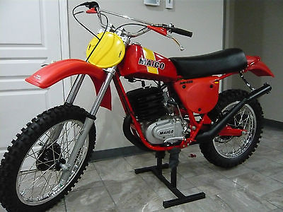 1977 Other Makes AW 400  1977 Maico AW 400 MANY NOS PARTS  FALK PLASTICS PENTON HUSQVARNA