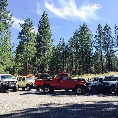 1991 Toyota Land Cruiser  1991 75 Series Truck with Factory Bed and Rebuilt Diesel Engine