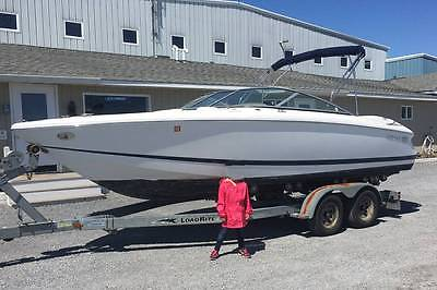 2006 Cobalt 220 Bowrider with 2006 Load Rite Trailer