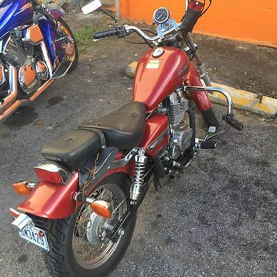 2004 Honda Rebel  red 2004 Honda Rebel 250 with 11,293 miles