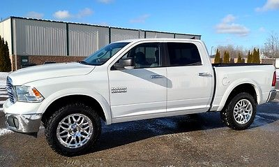 2014 Ram 1500 SLT Crew Cab Pickup 4-Door LT Crew Cab 4x4 3.6L Navigation Back Up Camera Rear Power Sliding Window