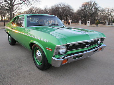 1972 Chevrolet Nova 1972 Chevrolet Yenko Nova tribute, fresh 406 CI, 4 wheels disc brakes, cool ride