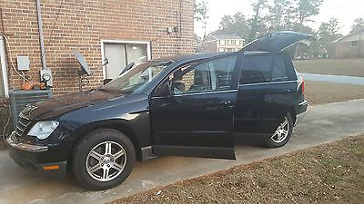 2007 Chrysler Pacifica Base Sport Utility 4-Door 2007 Chrysler Pacifica Base Sport Utility 4-Door 3.8L Black SUV Truck Duels