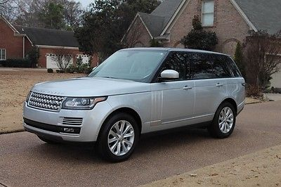 2015 Land Rover Range Rover HSE Supercharged One Owner Perfect Carfax Full Size Range Rover HSE Supercharged MSRP New $101951
