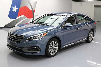 2015 Hyundai Sonata  2015 HYUNDAI SONATA SPORT HTD LEATHER NAV REAR CAM 21K #224574 Texas Direct Auto