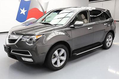 2012 Acura MDX  2012 ACURA MDX SH-AWD TECHNOLOGY SUNROOF NAV 7-PASS 53K #526173 Texas Direct