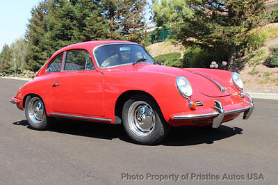 1963 Porsche 356 Porsche 356B S Coupe 1600, CA car from new, Porsche 356B S Coupe, just restored, rust free, 2 owner CA car,books and history