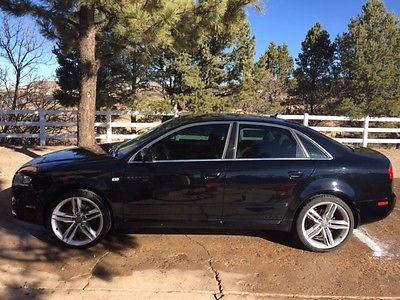 2008 Audi A4 S Line Sport Sedan 4-Door 2008 Audi A4 Quattro S Line Sport Sedan 4-Door 2.0L