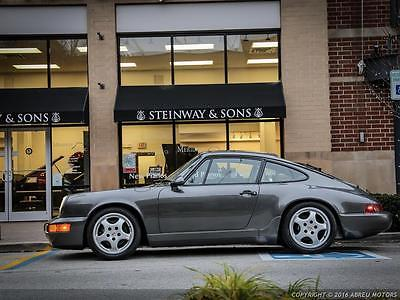 1990 Porsche 911 Rare Slate Gray over Linen All Leather Interior - Just Serviced - 53600 Miles!