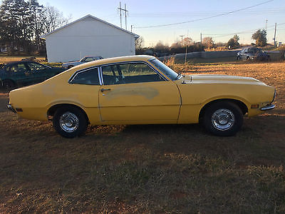 1972 Ford Maverick Base 1972 Ford Maverick