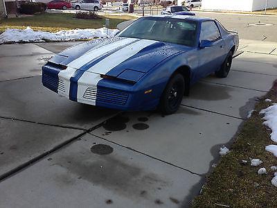 1983 Pontiac Trans Am coupe 1983 Pontiac Firebird Trans Am--Knight Rider