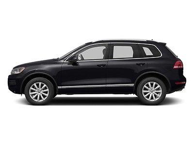 2013 Volkswagen Touareg 4dr VR6 Exec 4 dr vr 6 exec suv gasoline 3.6 l v 6 cyl black uni