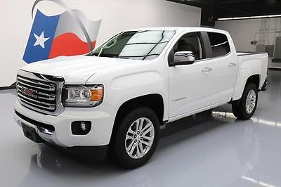 2015 GMC Canyon SLT Crew Cab Pickup 4-Door 2015 GMC CANYON SLT CREW HTD LEATHER NAV REAR CAM 21K #135594 Texas Direct Auto