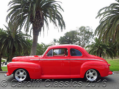 1948 Ford Super Deluxe 8  '48 SUPER DELUXE 8 (351W) C-6 A/T- A/C-POWER WINDOWS-WILWOOD BRAKES *CALIFORNIA*