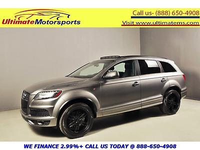 2014 Audi Q7 S Line Sport Utility 4-Door 2014 AUDI Q7 3.0T QUATTRO PRESTIGE AWD SUPERCHARGED NAV PANO LEATHER GRAY PEARL
