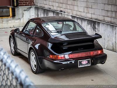 1992 Porsche 911 Turbo Coupe 2-Door Rare 1992 964 3.3 Turbo - Sport Seats - Factory Example - No Mods - Pristine!