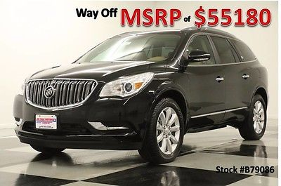 2017 Buick Enclave New Navigation Heated Cooled Leather Ebony 15 16 2016 17 Captains Bose Camera