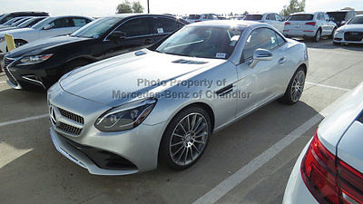 2017 Mercedes-Benz SLC SLC300 Roadster LC300 Roadster New 2 dr Convertible Automatic Gasoline 2.0L 4 Cyl Iridium Silve