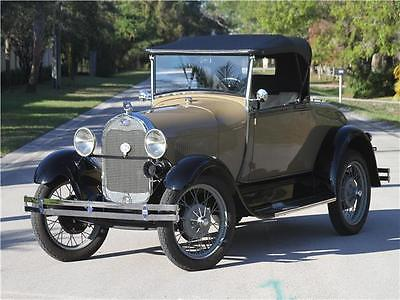 1928 Ford Other Pickups -- 1928 FORD MODEL A ROADSTER - FULLY RESTORED