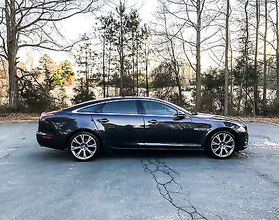 2012 Jaguar XJ L Portfolio Sedan 4-Door 2012 JAGUAR XJ-L PORTFOLIO,KEYLESS GO, ONE OWNER, V8, NAVI, PADDLE SHIFT,BLUETOO