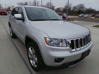 2012 Jeep Grand Cherokee Overland 2012 Jeep Grand Cherokee, Bright Silver Metallic with 80060 Miles available now!