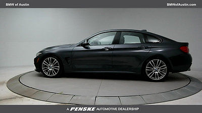 2016 BMW 4-Series 428i Gran Coupe 4dr 428i Gran Coupe 4dr 4 Series Sedan Automatic Gasoline 2.0L 4 Cyl Mineral Gray Me