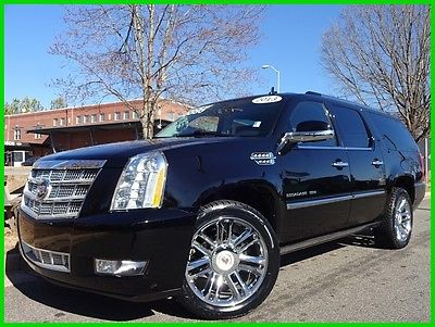 2013 Cadillac Escalade CLEAN CARFAX WE FINANCE TRADES WELCOME 6.2L V8 SUNROOF DVD ENTERTAINMENT TOUCHSCREEN GPS BACKUP CAMERA BOSE ONSTAR BT