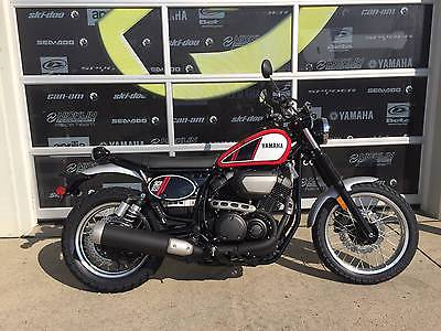 SCR950 -- 2017 Yamaha SCR950  0 Miles Rapid Red