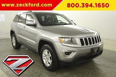 2014 Jeep Grand Cherokee Laredo 4x4 3.6L V6 Automatic 4WD Power Seat Bluetooth Aluminum Wheel Dual Climate