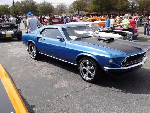 1969 Ford Mustang MACH1 1969 FORD MUSTANG MACH1 428 COBRA JET Q-CODE