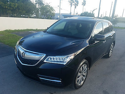 2014 Acura MDX Base Sport Utility 4-Door 2014 Acura MDX TECH PACKAGE Sport Utility 4-Door 3.5L FULLY LOADED MAKE OFFER