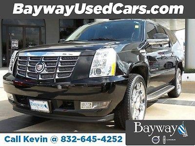2011 Cadillac Escalade ESV 20k MILES Luxury 20K MILES 2011 Cadillac Escalade ESV Luxury 25,795 Miles BLACK Sport Utility Gas/Ethanol V