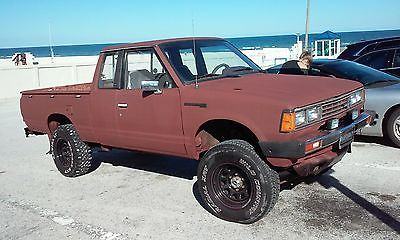 1983 Datsun Other  1983 DATSUN 720 D 4X4 KING CAB